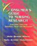 The Consumer S Guide To Nursing Research