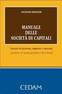Manuale delle società di capitali