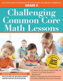 Challenging Common Core Math Lessons Grade 3
