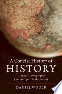 A Concise History of History Book