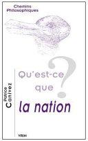 Qu'est-ce que la nation?