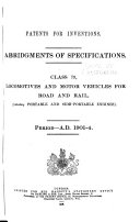 Patents for Inventions  Abridgments of Specifications