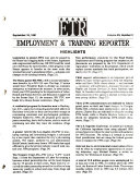 Employment and Training Reporter
