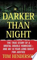 Darker than Night Book