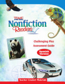 TIME For Kids Nonfiction Readers: Challenging Plus Assessment Book (Spanish Version)