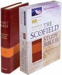Scofield Study Bible III NIV  Centennial Edition
