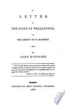 A letter to the duke of Wellington, on the arrest of m. Marinet Pdf/ePub eBook