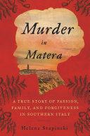 Murder In Matera Pdf/ePub eBook