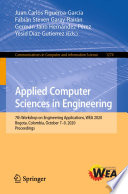 Applied Computer Sciences in Engineering Book