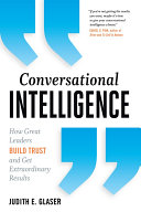 Conversational Intelligence Pdf/ePub eBook