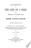 Events in the Life of a Seer