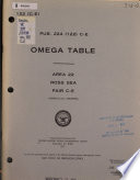 Omega Table Book PDF