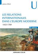 Pdf Les relations internationales dans l'Europe moderne - 2e éd. Telecharger