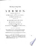 The Duty of Doing Good. A Sermon Preached ... the 14th of June, 1752, Etc