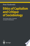 Ethics of Capitalism and Critique of Sociobiology