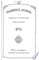 Chambers s Journal of Popular Literature  Science and Arts Book