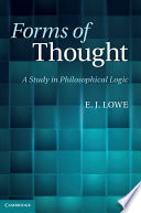 Forms of Thought