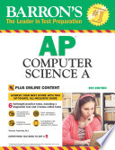 Barron s AP Computer Science A With Bonus Online Tests