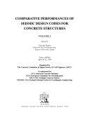 Comparative Performances of Seismic Design Codes for Concrete Structures Book