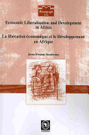 Pdf Economic Liberalisation and Development in Africa Telecharger