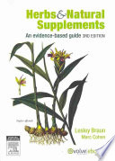 Herbs & Natural Supplements  : An Evidence-based Guide