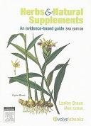Herbs   Natural Supplements