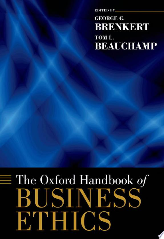 The+Oxford+Handbook+of+Business+Ethics