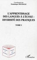 Pdf L'apprentissage des langues à l'école : diversité des pratiques Telecharger