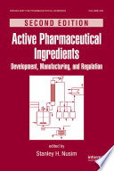 Active Pharmaceutical Ingredients Book PDF