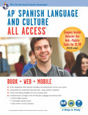 AP Spanish Language and Culture All Access w Audio