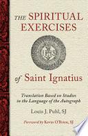 The Spiritual Exercises of St  Ignatius