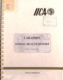CARAPHIN animal health report