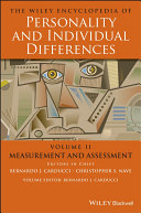 The Wiley Encyclopedia of Personality and Individual Differences, Measurement and Assessment Pdf/ePub eBook