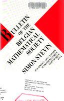 Bulletin of the Belgian Mathematical Society  Simon Stevin