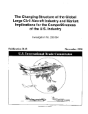 The Changing Structure of the Global Large Civil Aircraft Industry and Market Pdf/ePub eBook