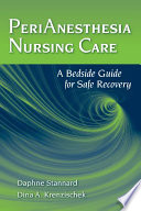PeriAnesthesia Nursing Care Book