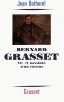 Bernard Grasset [Pdf/ePub] eBook