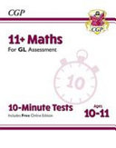 New 11  GL 10 Minute Tests  Maths   Ages 10 11  with Online Edition