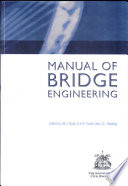 The Manual of Bridge Engineering