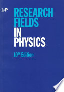 Research fields in physics at United Kingdom and Irish universities