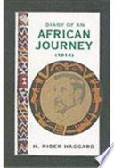 Diary Of An African Journey 1914