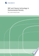 BAT and Cleaner technology in Environmental Permits