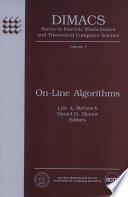 On-line Algorithms