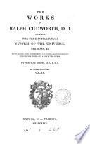 The Works Of Ralph Cudworth