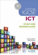 Books - Cam/Ie Igcse Ict Study And Revise Guide | ISBN 9781471890338