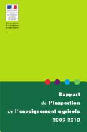 Rapport de l'inspection de l'enseignement agricole 2009-2010