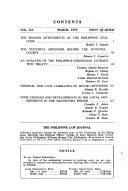 Philippine Law Journal