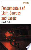 Fundamentals of Light Sources and Lasers Book PDF