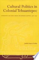 Cultural Politics In Colonial Tehuantepec