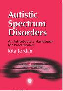 Autistic Spectrum Disorders Pdf/ePub eBook